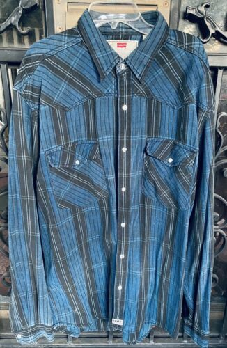 Levis Snap Button Denim Shirt