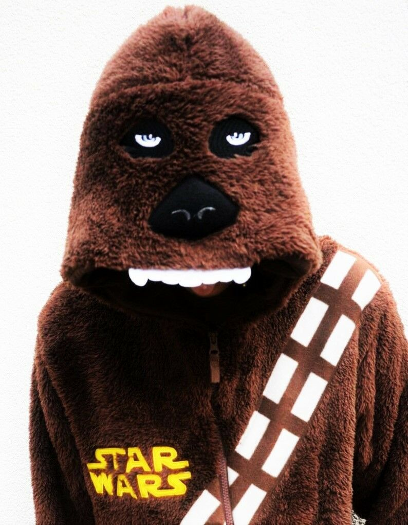 Jungen Star Wars Overall Chewbacca Kinder Strampelanzug Schlafanzüge