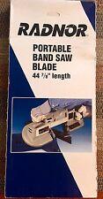 New Radnor Portable Band Saw Blade Bi Metal 44 78 Long 3 Pieces