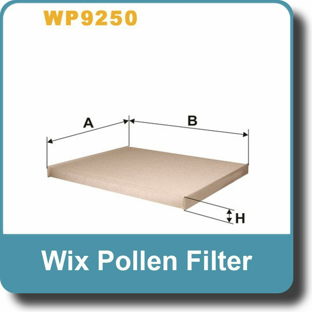 Wix Filters WP9250 Cabin Air Filter