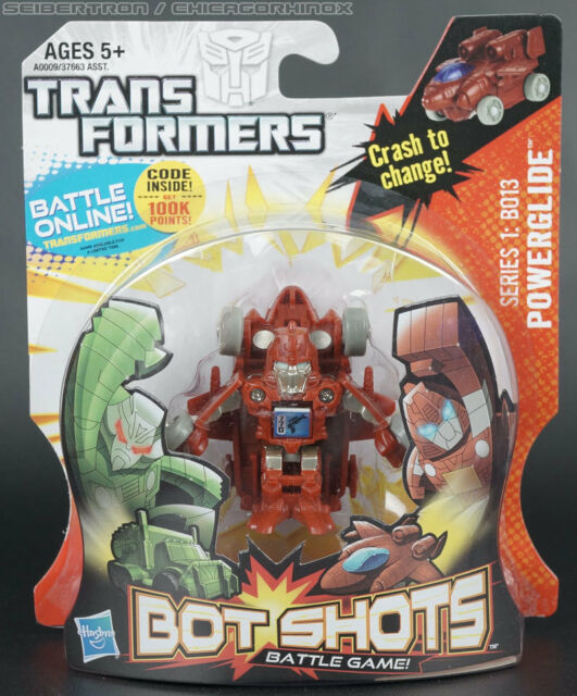 Hasbro Transformers Collectors Club Battle Bot Shots Series 1 B013