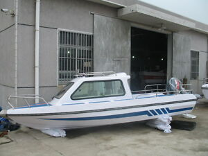 Brand-New-17-7-039-Fiberglass-Boat-For-8-Person-Free-Shipped-By-Sea