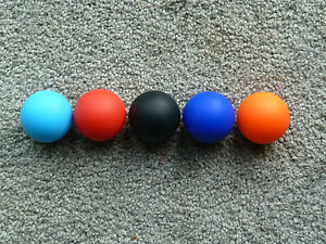 Lacrosse Massage Ball Myofascial Trigger Point mobility release balls Body Pain