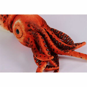 Giant-Squid-Plush-Stuffed-Sea-Animal-Toy-31-5-039-039-Soft-doll-Christams-Cushion-Gift