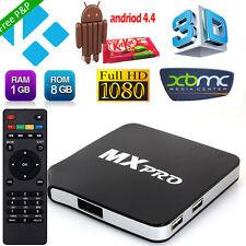 Mini M8S MX Pro Quad Core Android 4.4 Smart TV Box Media Player Wifi HDMI