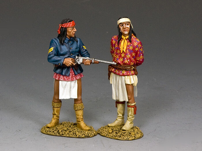 King and Country Apache Prisoner & Apache Guard TRW141