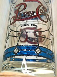 PEPSI-COLA-039-S-75TH-ANNIVERSARY-COMMEMORATIVE-GLASS-SET-IN-ORIGINAL-BOX-New-in-box