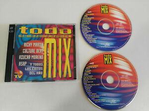 TUTTO-O-MIX-2-X-CD-SPANISH-EDITION-1996-DANCE-POOL-SONY-MAX-MIX-ITALO-DANCE