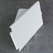 WHITE REPLACEMENT COVER for RECTANGULAR MAINS 16A INLET or 13A OUTLET MOTORHOME