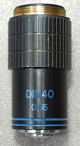 SWIFT-DIN40-40X-MICROSCOPE-OBJECTIVE