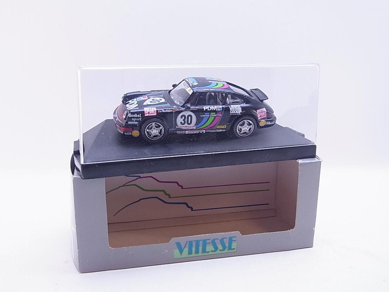 Lot 40684   vitesse 732.0 PORSCHE CARRERA CUP 1 43 voiture miniature nouveau dans neuf dans sa boîte