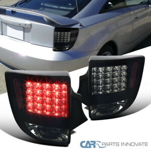 For-00-05-Toyota-Celica-LED-Glossy-Black-Smoke-Tail-Lights-Rear-Parking-Lamps