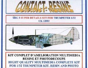 Set CONTACT RESINE 1//32 n° CK32006 Set de détaillage MOTEUR POLIKARPOV I-16