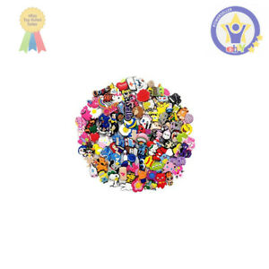 100-Mixed-Pvc-Shoe-Charm-Lot-Different-Charms-Fit-For-Croc-Jibbitz-Wristband-NEW