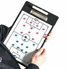 NEW Precision Magnetic Football Coaches Tactic Clip Board - Reversible clipboard