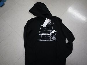 new arrivals differently amazing price Details about Women's KAWS X PEANUTS X UNIQLO Black Collection SNOOPY  Hoodie US SIZE SOLD OUT!