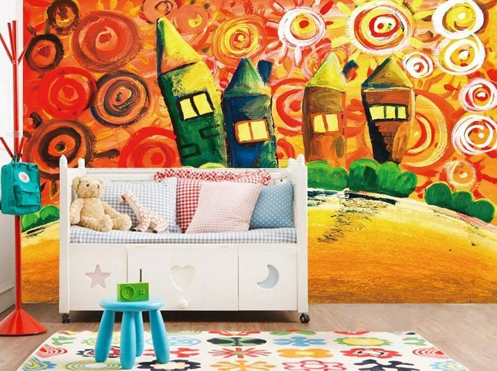 3D House painting 102 WallPaper Murals Wall Print Decal Wall Deco AJ WALLPAPER