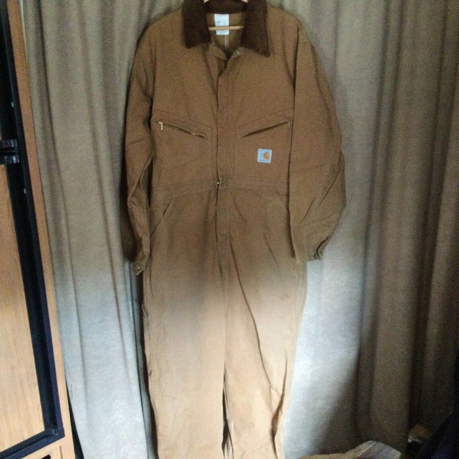 Carhartt Men's 40S Workwear Coveralls One-Piece, … - image 1
