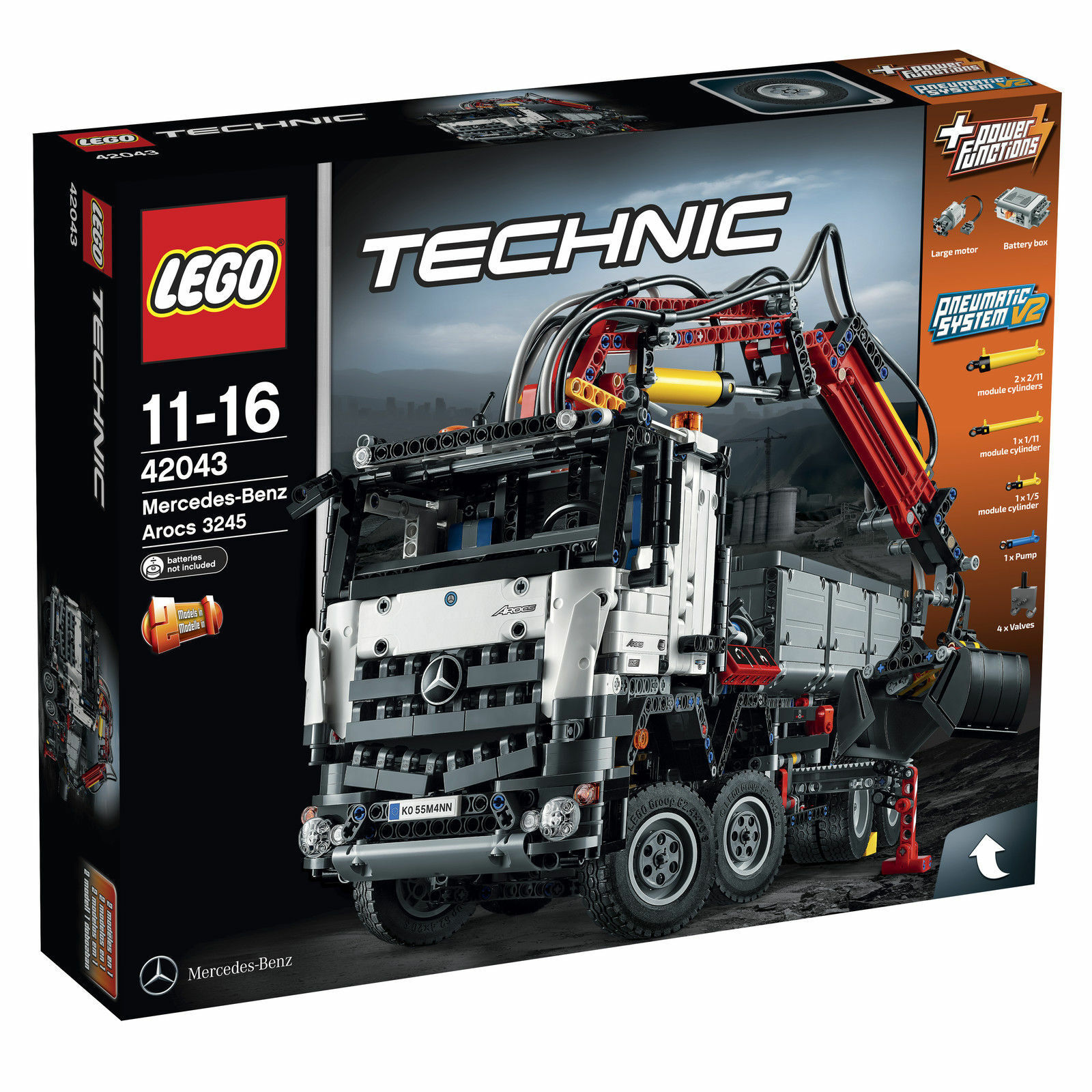 LEGO TECHNIC 42043 Mercedes-Benz Arocs