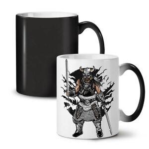 Viking Warrior Fashion NEW Colour Changing Tea Coffee Mug 11 oz | Wellcoda