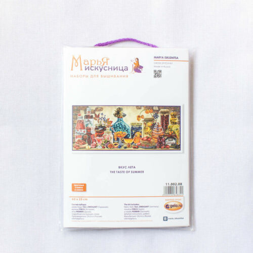 "MARY WEAVER Cross Stitch Kit MARYA ISKUSNITSA 11.002.08 /""The taste of summer/"""