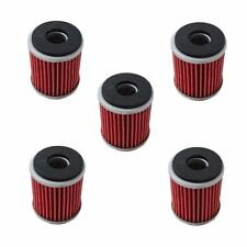 New Pack of 5 Oil Filter fit for Yamaha Replace HF140 & KN140