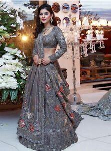 11b87220a130 Image is loading Designer-Lehenga-Choli-Bollywood-Indian-Party-Wear-Bridal-