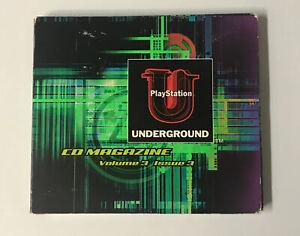 Sony Playstation Underground CD Magazine Volume 3 Issue 3 Race Inside PS1 DEMO