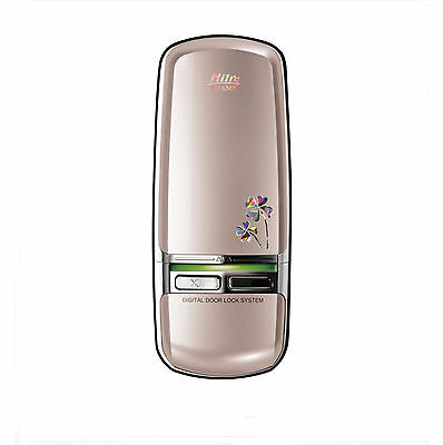 Milre MI-350D(CHAMP) Keyless Electronic Digital Door Lock Champagne Gold