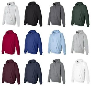 Hanes-Mens-NEW-Size-S-3XL-Full-Zip-Hooded-Sweatshirt-Jumper-Hoodie-50-50
