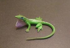 RARE Kaiyodo Furuta Series 5 Green Anole Lizard Figure