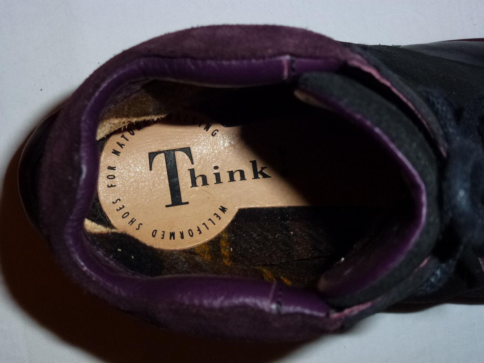 Think Stiefeletten Boots Cookie - Gr 37 - schwarz - gefüttert - Blogger - 9,7/10
