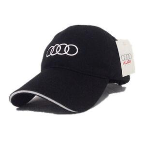 AUDI CAP HAT BASEBALL CAR A3 A8 A6 S4 SQ5 QUATTRO A1 Q7 Q5 Q3 A4 S5 ... 49a9a3a0f65