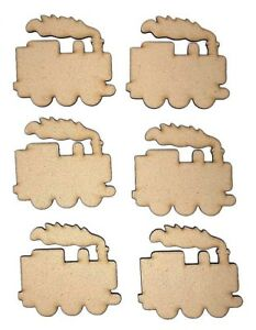 Details about Wooden MDF Train with smoke, Train Craft shape, Train craft  project ideas, Train
