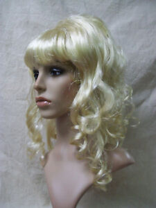 Sexy Blonde Beehive Beauty Wig 60s 70s Housewife Pinup Mod Drag Queen Playmate Ebay