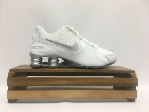 2da6fd5fbf2 5 of 9 Nike Shox Avenue (GS) Running Shoes White Silver 848112-100 Youth  Size 4Y