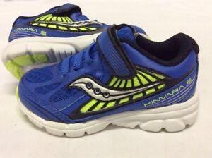 b5927f362b03 Saucony KINVARA 5 Baby Boys Shoes Size 5 M Blue Green Eur 21