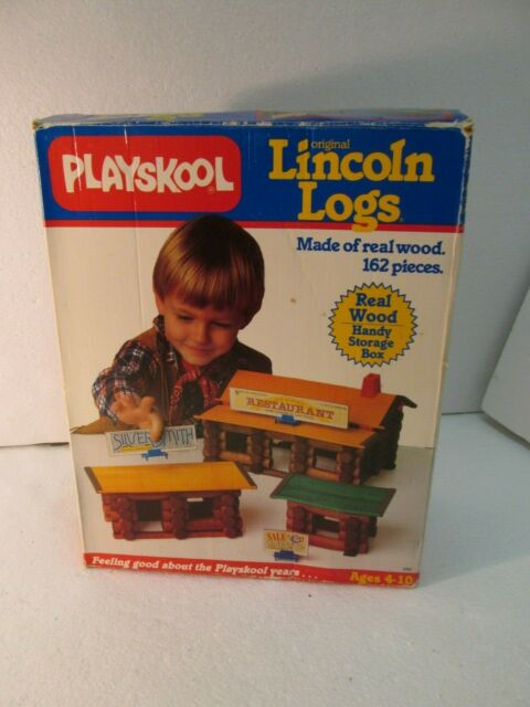1986 Playskool Original Lincoln Logs