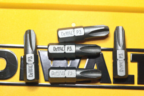 DEWALT PH3 X 5 BITS 25MM HIGH QUALITY SCREWDRIVER BITS X FOR DRILL DRIVERS