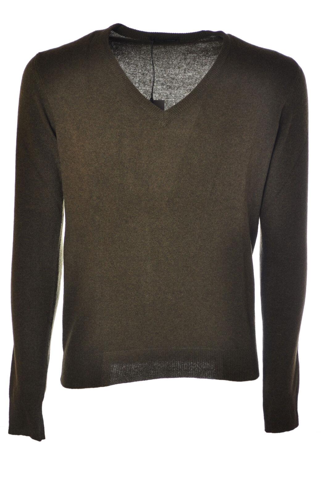 Roberto Collina  -  Sweaters - Male - Grün - 2834431N174011