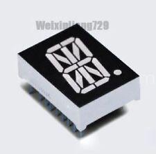 "10pcs 0.8"" inch 1 digit led display 17-seg Alphanumeric Common cathode 阴 RED"