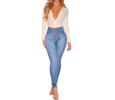 la mejor actitud 1377f a1c52 Pantalones Jeans Nueva Moda Para 2019 Ropa de Mujer Colombianos Levanta  Cola | eBay