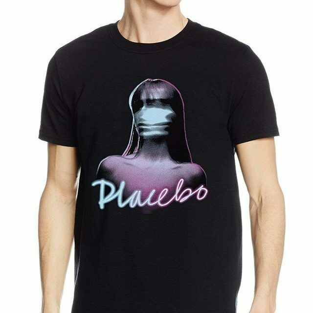 PLACEBO T-Shirt Ghost Girl - Taglia/Size M - OFFICIAL MERCHANDISE