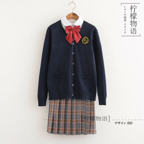 Japanese JK Sailor College Girls Women Novelty Female School Party Uniform #07