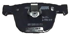 Genuine Bmw Arrière Plaquettes De Frein Kit De Réparation E70 E71 X5 X6 M PN 34216794879 UK