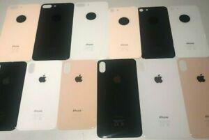 Apple-iPhone-8-X-XR-XS-MAX-Vetro-Posteriore-Alloggiamento-Posteriore-Coperchio-Batteria-di-ricambio