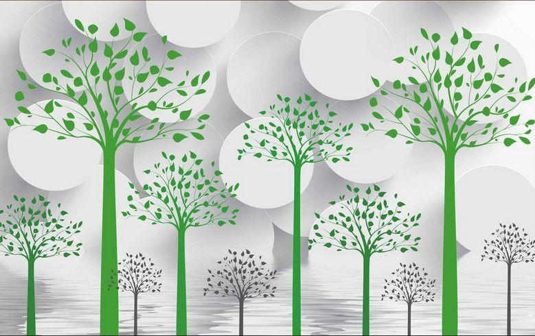 3D Art tree leaves 1077 Paper Wall Print Decal Wall Wall Murals AJ WALLPAPER GB
