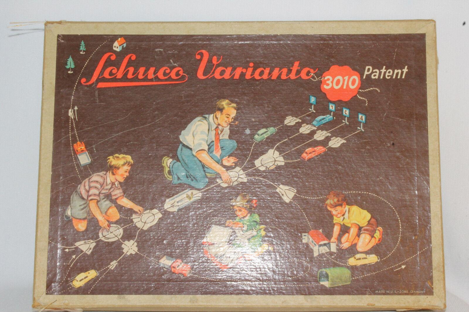1950's Schuco Varianto Set c, agradable Con Caja Original