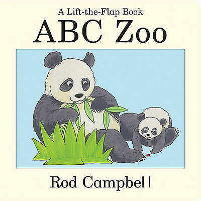 """""""AS NEW"""" ABC Zoo, Campbell, Rod, Book"""