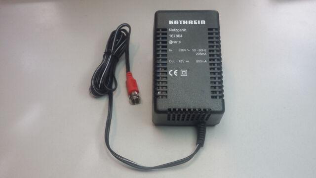 Kathrein Netzteil 167804 Netzteil 18V 800mA für Multischalter / Fernspeisung